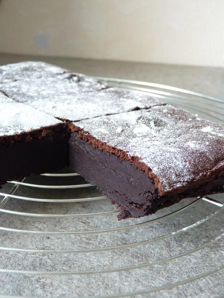 Gateau-flan chocolat 1