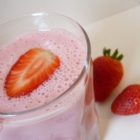 Smoothie fraise marshmallow fluff