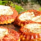 Tarte tatin mozarella tomate origan
