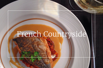 French countryside food guide