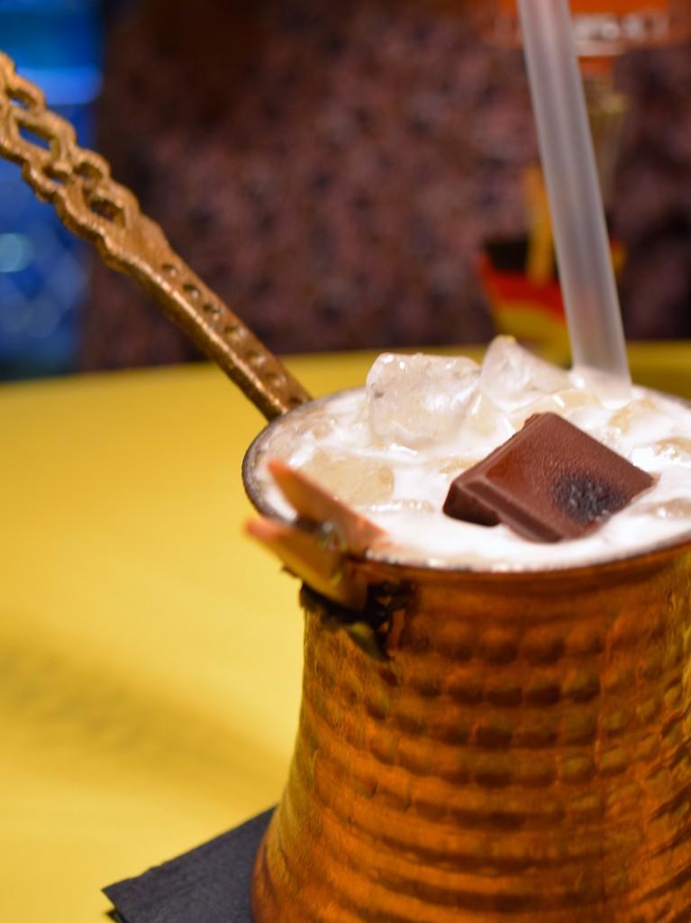 Black forest society lyon cocktail chocolat