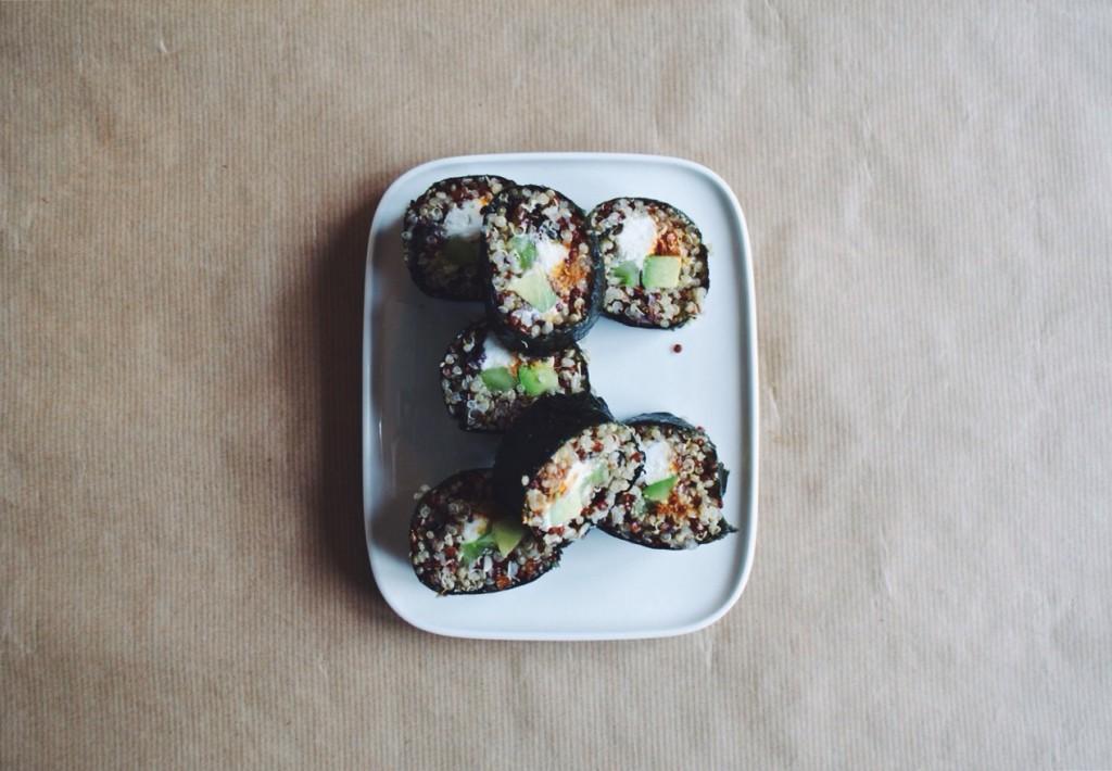 quinoa makis