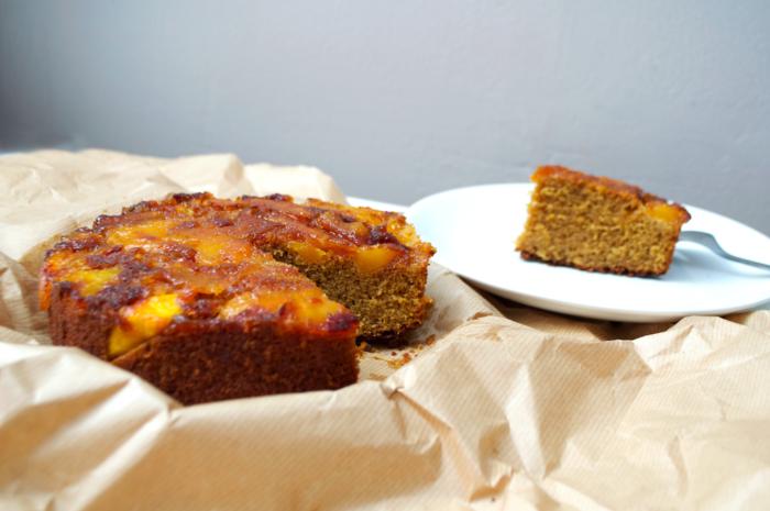 Gâteau Tatin à la Mangue caramélisée Farine Riz Sucre Coco