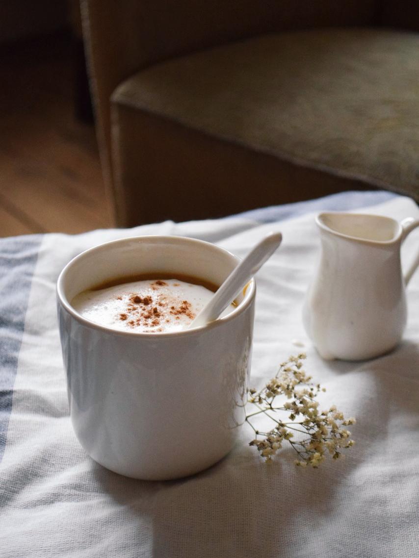 Chai latte au potimarron
