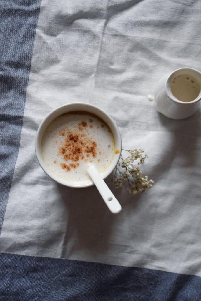 Chai latte au potiron