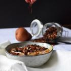 granola maison amaranthe chocolat pauvre en sucre