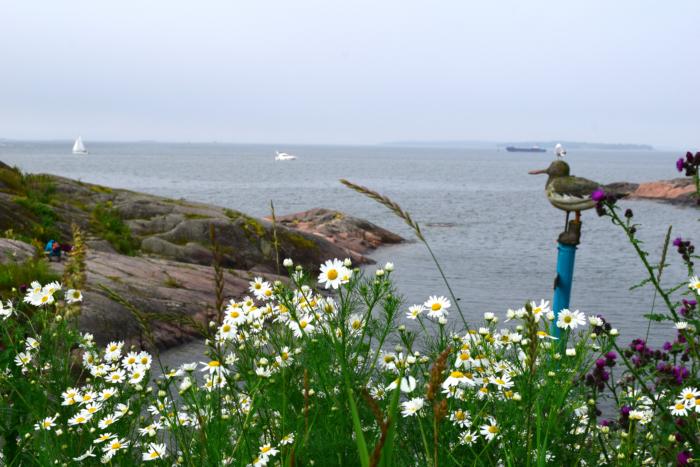 island suomenlinna sea