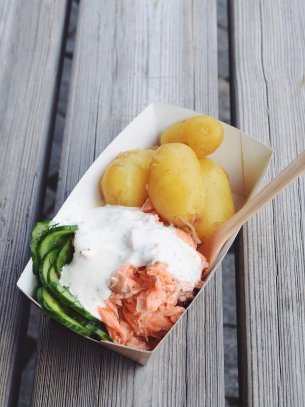 saumon pomme de terre creme tampere finlande