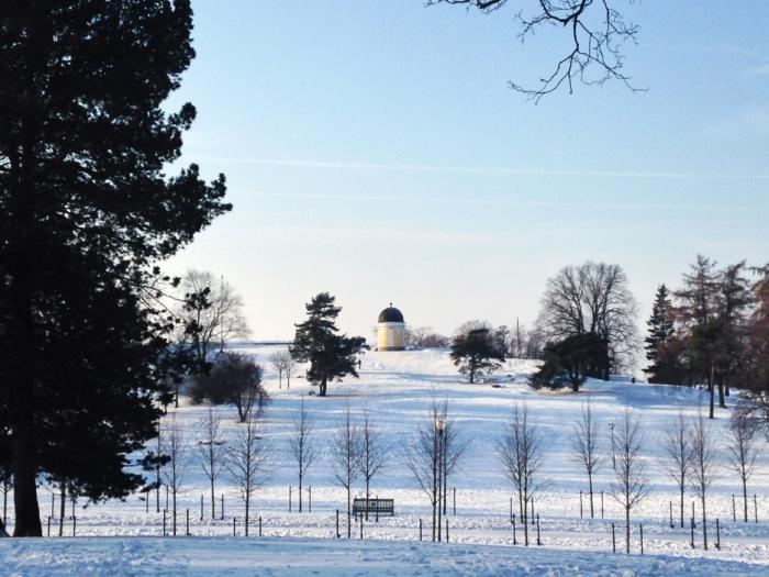 park snow helsinki