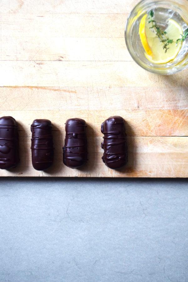 barres chocolatées beurre de cacahuète farine de coco