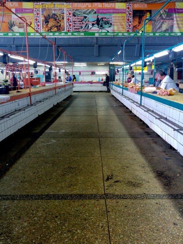 Zhytny market halle kiev ukraine