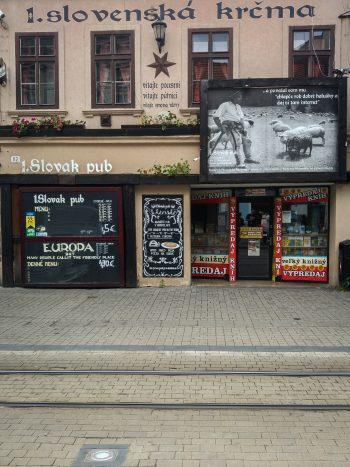 Bratislava food guide: 1. Slovak pub