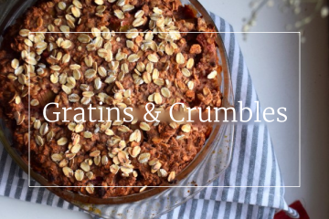 Sweet recipes - Crumbles & Gratins