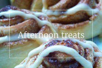 Sweet recipes - Afternoon treats