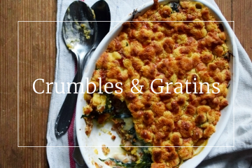 Crumbles & Gratins - Savory