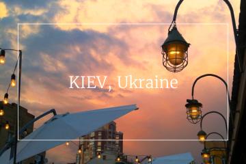 Food guide Kiev Ukraine