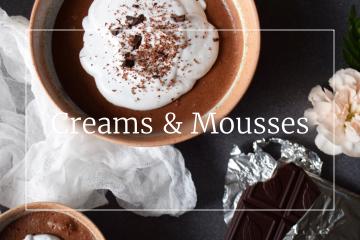 Sweet recipes - Creams & Mousses
