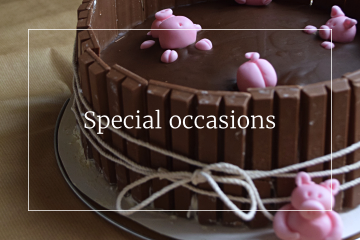 Sweet recipes - Special occasions