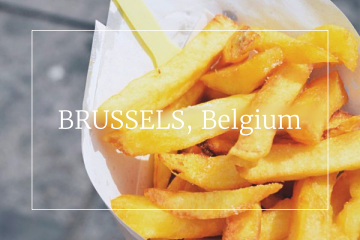 Food guide Brussels Belgium