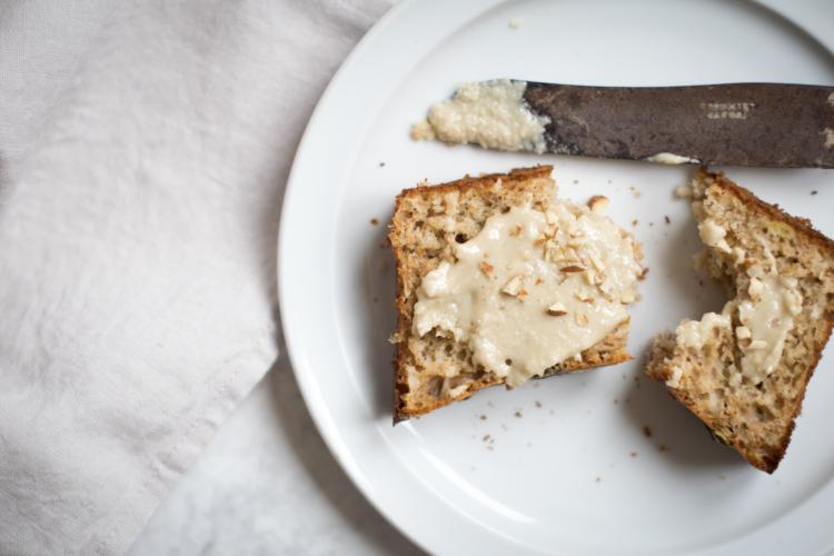 Whole Spelt Banana & Coconut Bread