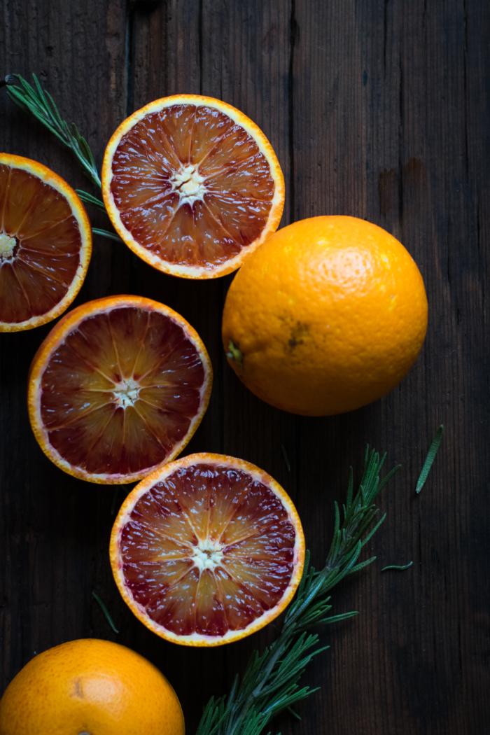 Focaccia Sucrée aux Oranges Sanguines & Romarin