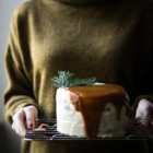 Sweet Potato, Gingerbread & Stracciatella Layer Cake