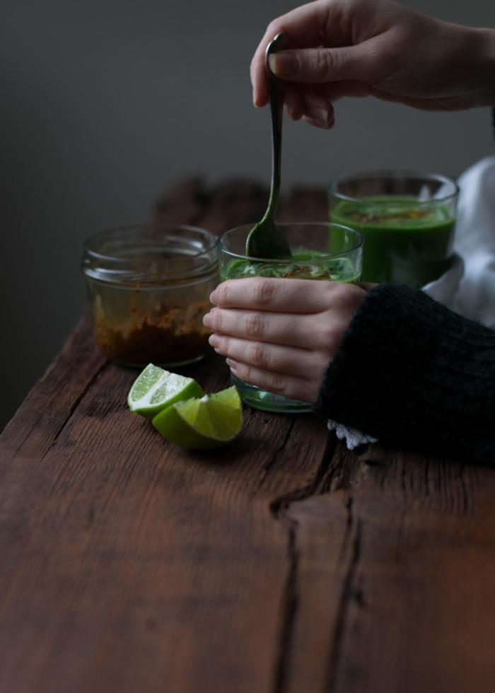 Crème de Pourpier, Avocat & Citron Vert