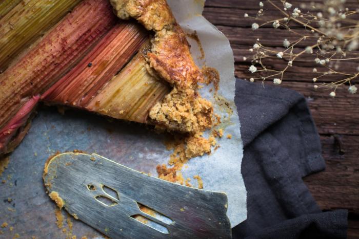 Galette Rhubarbe & Noix de Coco