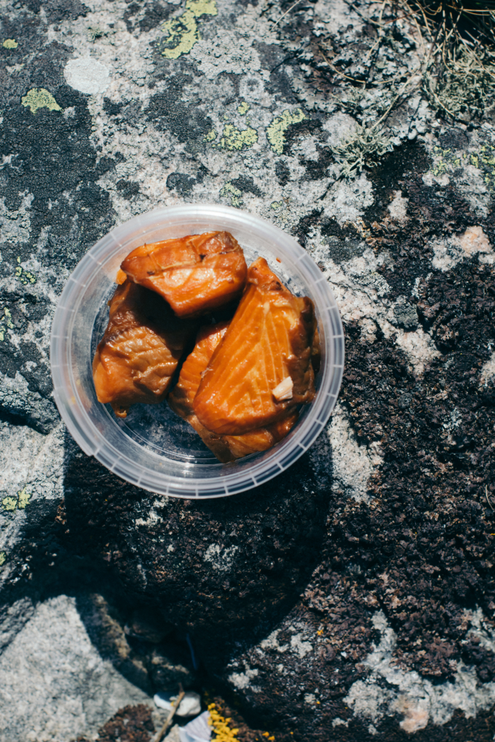 Salmon nuggets - Göteborg city & food guide