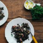 Eggplant, Preserved Lemon & Beluga Lentil Salad