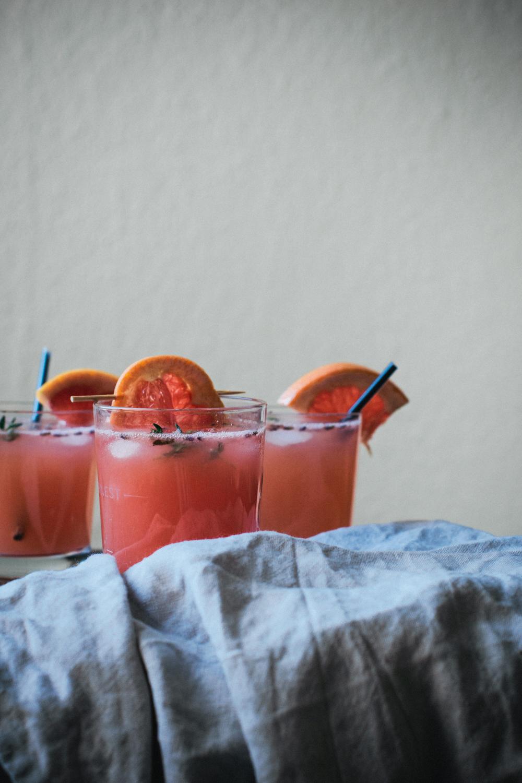 Gin Fizz Lavande & Pamplemousse