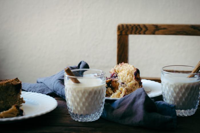 Blackberry, Chestnut Cream & Cardamom Rolls