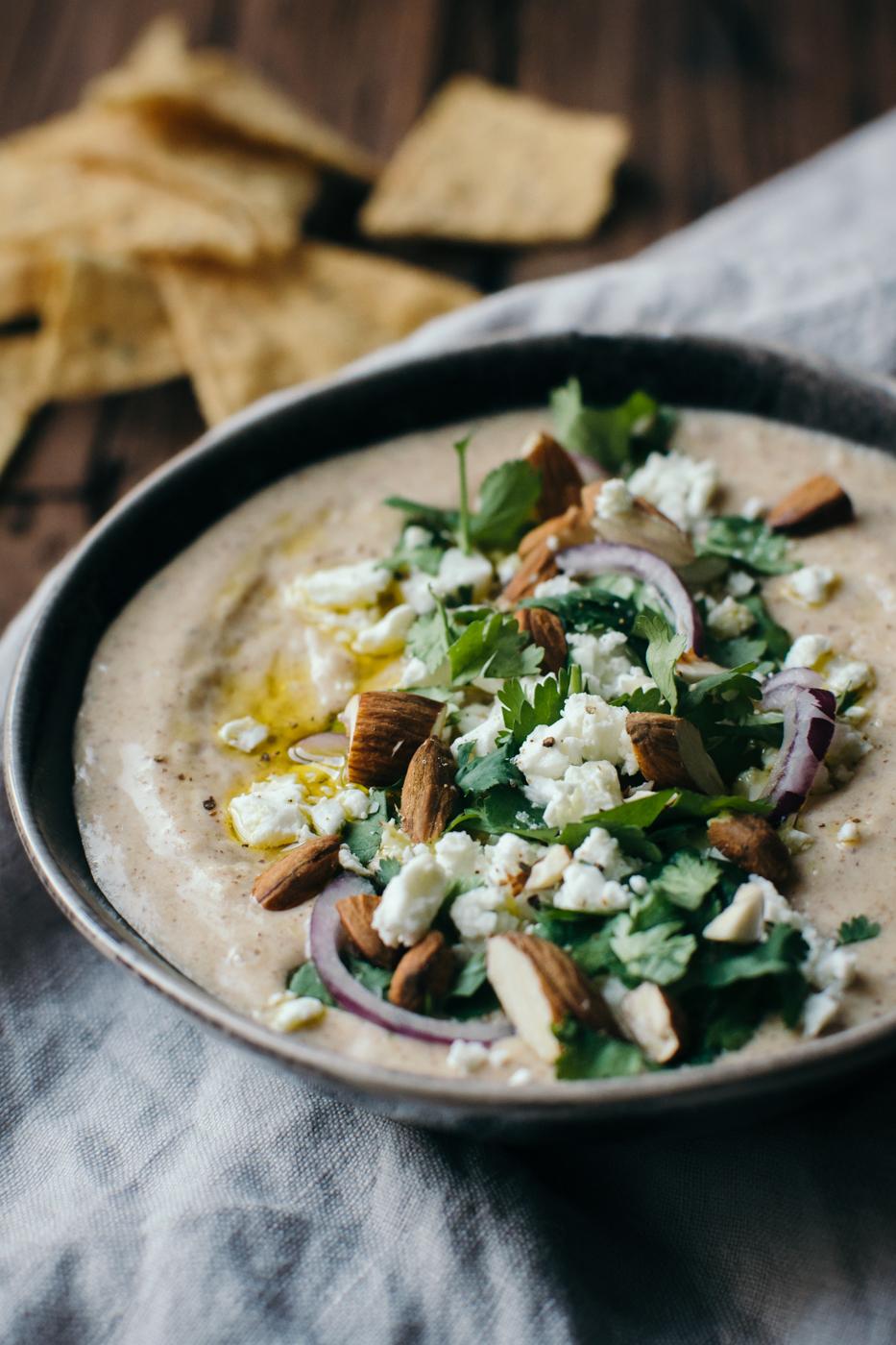 Almond & White Bean Hummus