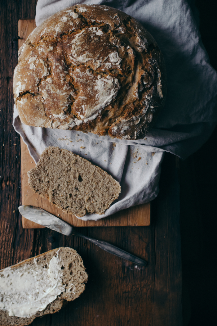 Spelt & Rye Sourdough Bread