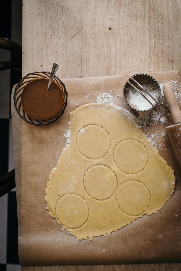 Linzer Cookies Tonka & Caramel au Beurre Salé