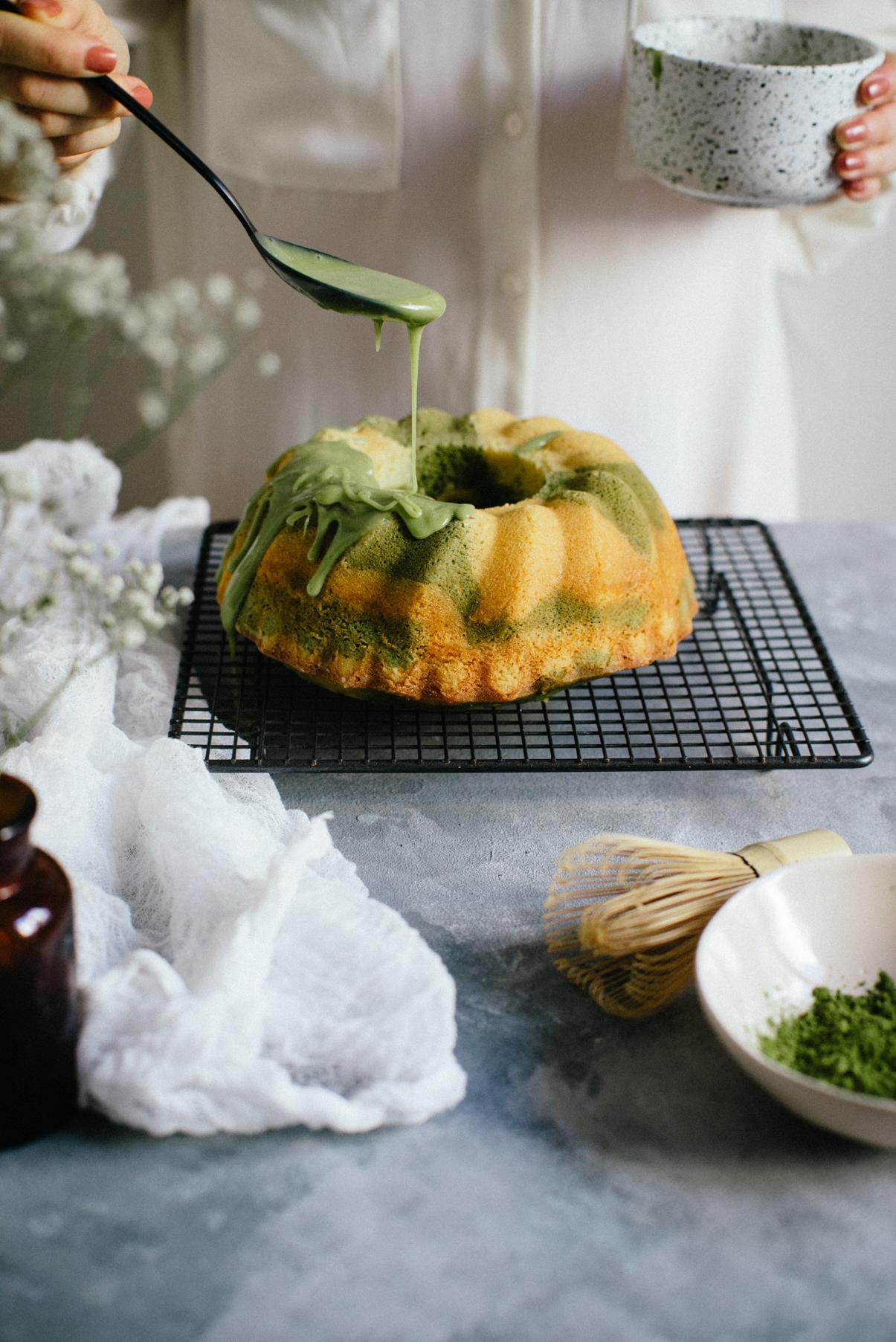 Bundt Cake Marbré Matcha Vanille-8257